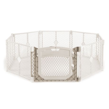 North States  Superyard Ultimate 2-Panel Extension Baby Gate - Ivory - image 2 of 2