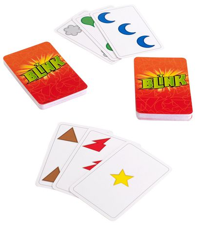 The World/'s Fastest Game by Mattel Blink Card Game