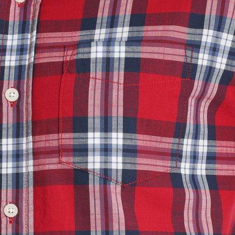 Chemise à carreaux à manches longues de première qualité Wrangler pour hommes - image 3 de 3