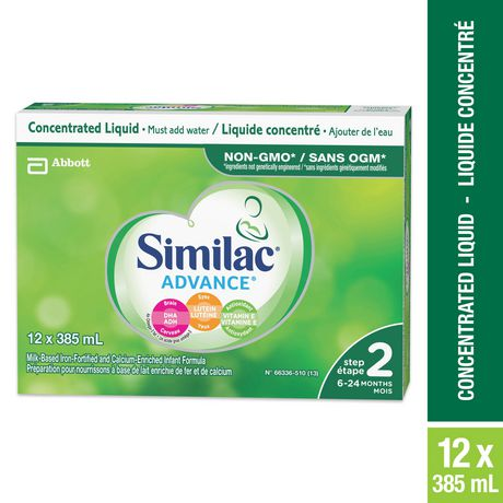 Similac® Advance® Step 2 Concentrated Liquid Baby Formula, 12 x 385 mL - image 1 of 9