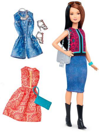 Barbie Fashionistas Doll & Fashions 41 Pretty in Paisley - image 1 of 7