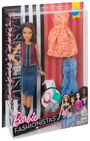Barbie Fashionistas Doll & Fashions 41 Pretty in Paisley - image 7 of 7