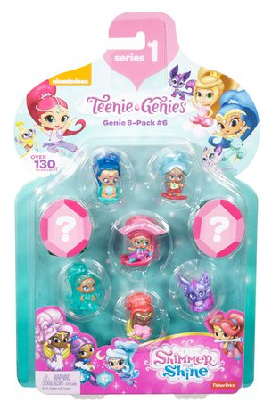 Fisher-Price Shimmer and Shine Teenie Genies Series 1 Genie 8-Pack #6 - image 2 of 3