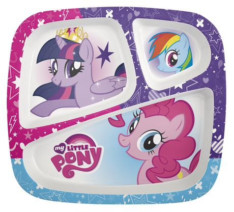 My Little Pony Divided Plate For Kids Walmart Canada