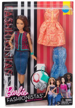 Barbie Fashionistas Doll & Fashions 41 Pretty in Paisley - image 6 of 7