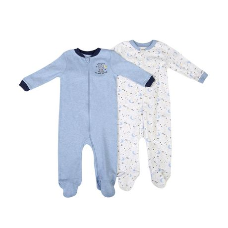 c7e1986859 George baby Boys  Cotton Sleepers