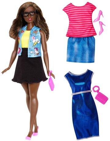 Barbie Fashionistas Doll & Fashions - Emoji Fun | Walmart ...