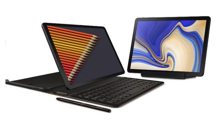 separation shoes 446f1 ca340 Samsung Galaxy Tab S4 Black Together with A Keyboard Cover And Get A ...
