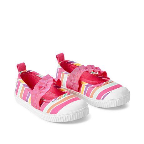 George Toddler Girls' Shimmer Bobble Slip On Shoes - image 2 of 4