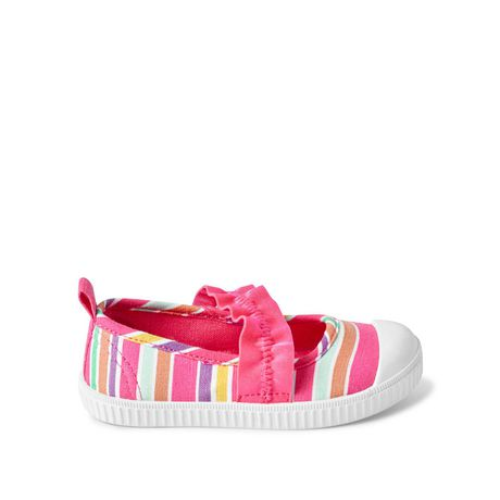 George Toddler Girls' Shimmer Bobble Slip On Shoes - image 1 of 4
