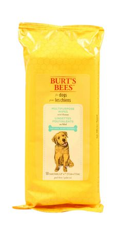 Burt's Bees Natural Pet Care Multipurpose Dog Wipes with Honey - image 1 of 1