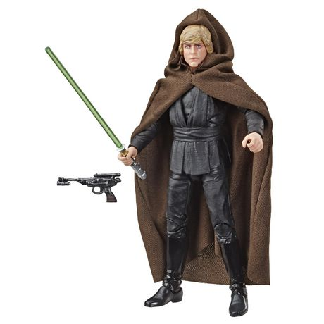 Star Wars The Black Series Luke Skywalker (Jedi Knight) Toy 6-inch Scale Star Wars: Return of the Jedi Collectible Figure - image 1 of 3
