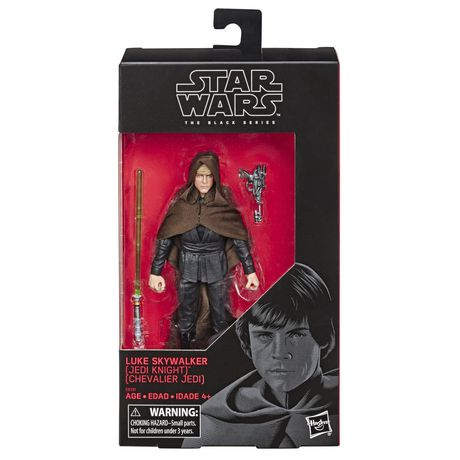 Star Wars The Black Series Luke Skywalker (Jedi Knight) Toy 6-inch Scale Star Wars: Return of the Jedi Collectible Figure - image 2 of 3