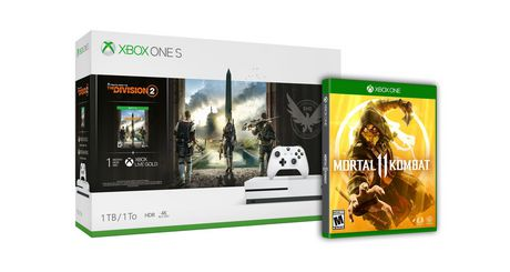 Xbox One S The Division 2 (1TB) Bundle with Mortal Kombat 11 (Xbox One) - image 1 of 1