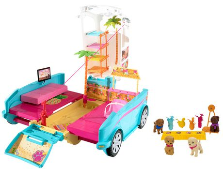 Barbie Ultimate Puppy Mobile - image 1 of 9