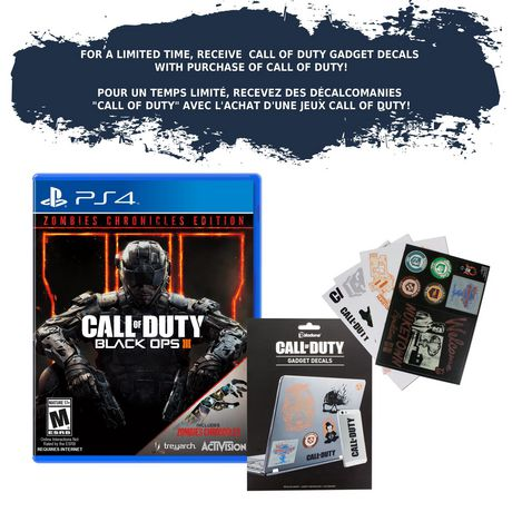 Call Of Duty: Black Ops 3 Zombie Chronicles Edition (PS4 ...