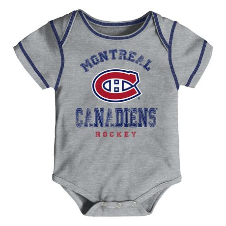NHL Montreal Canadiens 3-Pack Onesie - image 2 of 4