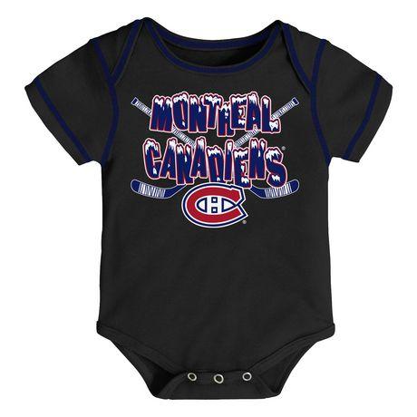 NHL Montreal Canadiens 3-Pack Onesie - image 3 of 4
