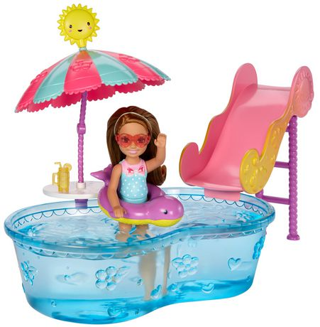 Barbie Club Chelsea Pool Water Slide