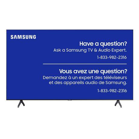 Meilleure télévision globalement - Télévision intelligente Crystal 4K UHD de 65 po par Samsung