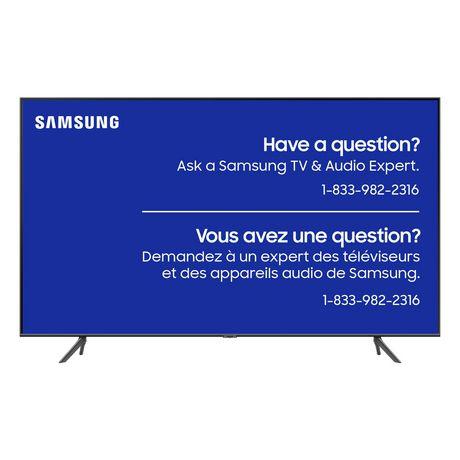 Meilleur téléviseur pour les jeux vidéo - Téléviseur intelligent QLED 4K UHD de 65 po par Samsung