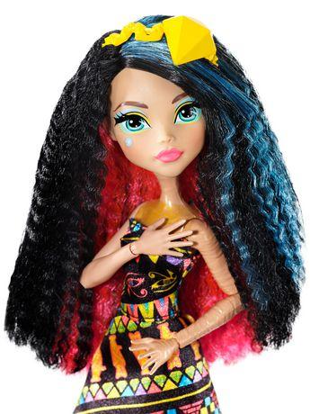 Walmart Spark Shop >> Monster High Electrified Hair-Raising Ghouls Cleo De Nile ...