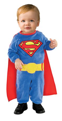Superman Costume - Infant - image 1 of 2