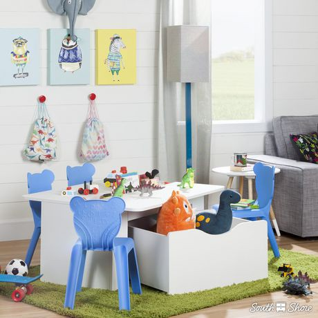 ensemble 4 chaises en plastique empilables pour enfant