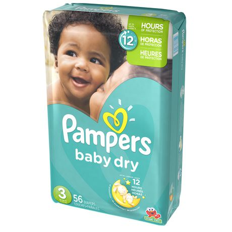 Pampers Baby Dry Diapers Mega Pack Walmart Canada
