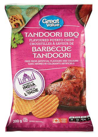 Great Value Tandoori BBQ Flavoured Potato Chips - image 1 of 2