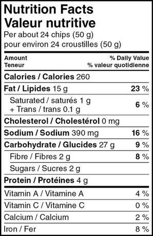 Great Value Tandoori BBQ Flavoured Potato Chips - image 2 of 2