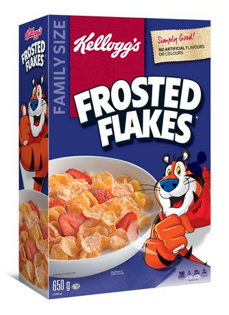 Kellogg's Frosted Flakes Cereal, Family Size, 650g - image 3 of 4