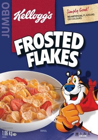 Kellogg's Frosted Flakes Cereal 1.06kg, Jumbo Size - image 3 of 4