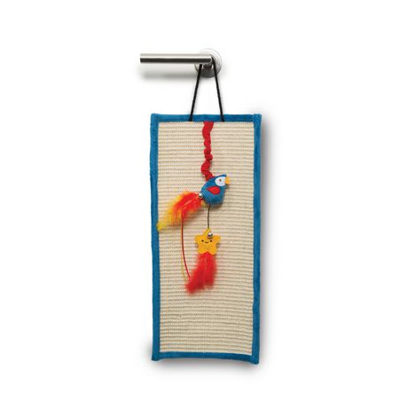 Catit Play Pirates Door Hanger - Parrot and Star - image 1 of 3