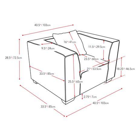 Fauteuil en tissu Lida de CorLiving en gris-vert - image 4 de 5