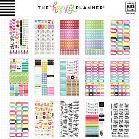 Happy Hostess Happy Planner Sticker Value Pack