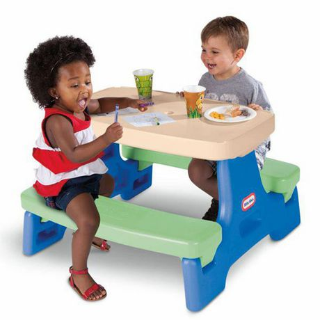 Little Tikes Easy Store Jr. Play Table - image 2 of 3