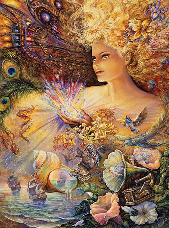 Buffalo Games Josephine Wall Crystal of Enchantment 1000