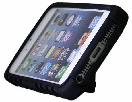 Étui pour iPhone SE/5/5s d'Exian - Blindé avec support