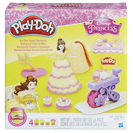 Play-Doh Be Our Guest Banquet Featuring Disney Princess Belle Multi