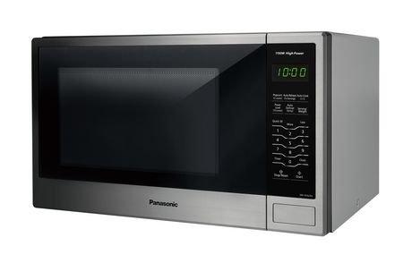Panasonic 1 3 Cu Ft Countertop Microwave Oven Walmart