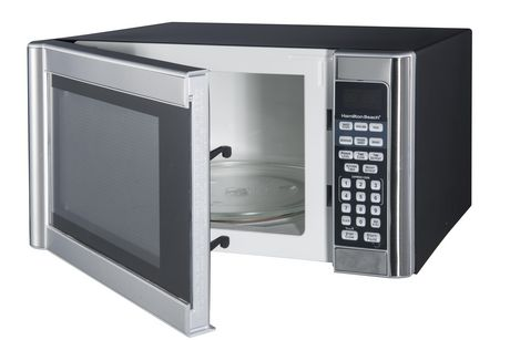 Hamilton Beach 1.1 cu.ft. Stainless Steel Microwave - image 3 of 3