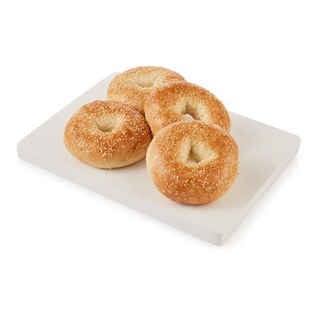 Upper Crust Sesame Bagels - image 3 of 4