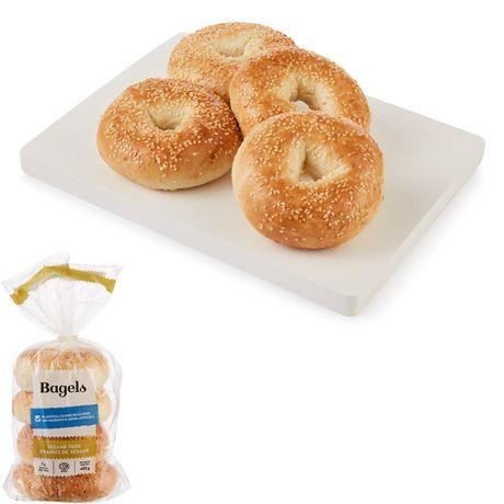 Upper Crust Sesame Bagels - image 1 of 4
