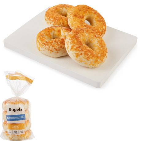 Upper Crust Cheese Bagels - image 1 of 4