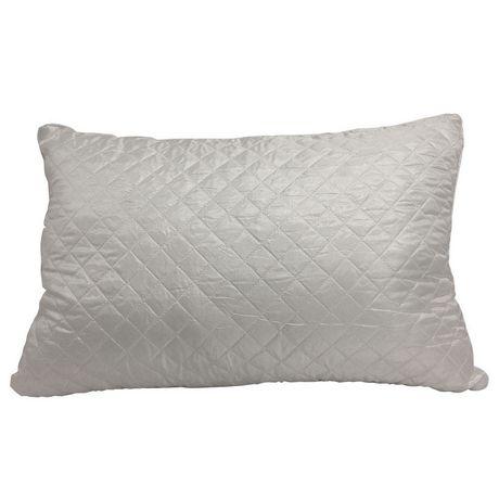 Oreiller à lit matelassé HomeTex - image 2 de 8