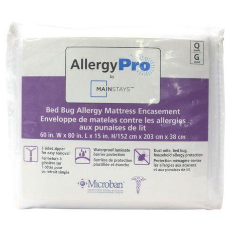 Mainstays Bed Bug Allergy Mattress Encasement Walmart Canada