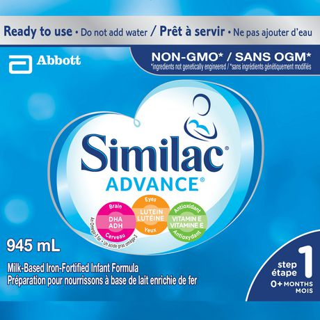 Similac Advance Step 1 Ready-To-Use Baby Formula, 945 mL - image 2 of 9