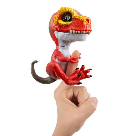 Untamed T-Rex by Fingerlings – Ripsaw (red) - Interactive Collectible Dinosaur - by WowWee - image 2 of 4