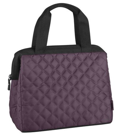Thermos Duffle Lunch Tote with Quilt Pattern - image 1 of 2